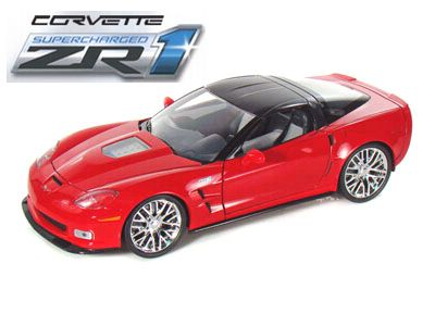 2009 Corvette ZR1 Supercharged - Victory Red - JT92025RD