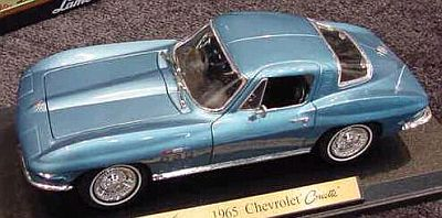 1965 Corvette Sting Ray Coupe item 31640blue