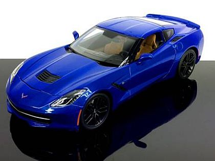 C7 2014 Corvette Stingray Z51 Coupe • Laguna Blue • #MAI31677LBU