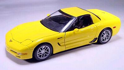 C5 Corvette Z06 item 31889yellow
