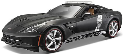 C7 Corvette Stingray Police • Black • #MAI36212