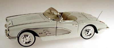 Item MM-73109wh 1958 Corvette Convertible, white