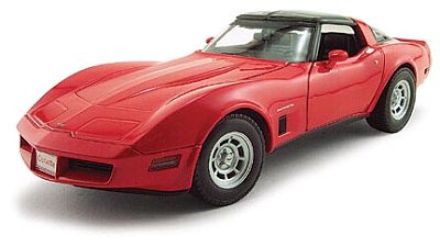 1982 Corvette Coupe • Red • #WE12546RD