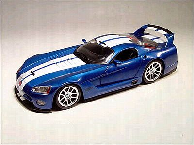 Item HW-54580 Viper GTSR Competition coupe, blue with white stripes