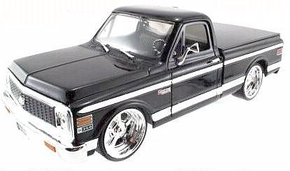 1972 Chevy Pickup Truck - Black - #JT53578Ablk