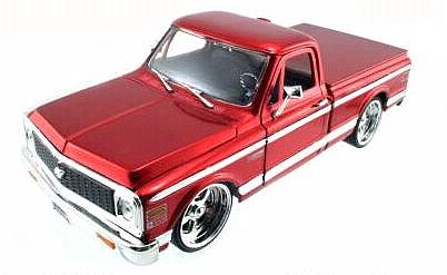 1972 Chevy Pickup Truck - Red metallic - #JT53578Ared