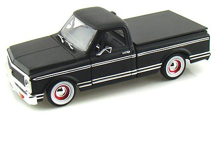 1972 Chevy Cheyenne Pick Up Truck • Primer Black • Collector's Club L/E • #JT96442