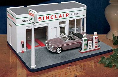 1960s SINCLAIR Gas Station, item #DM0967