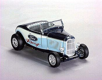 Item SC-26065 1932 Ford Hot Rod with FORD Racing graphics