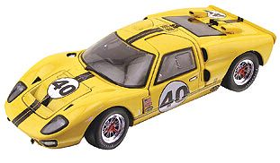 40th Anniversary Ford GT40 Mk II yellow item GMP2404602