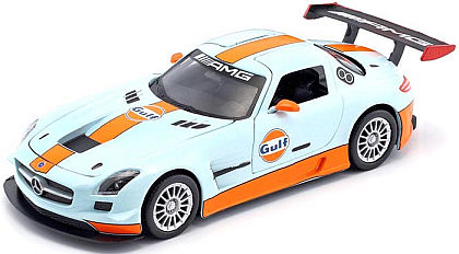 Mercedes Benz SLS AMG GT3 • GULF Racing livery • #MM79646