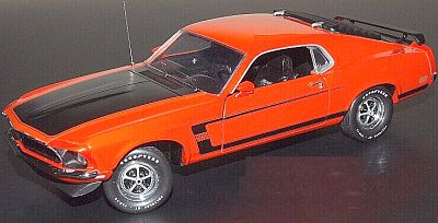 1969 Ford Mustang BOSS 302, item #FM-M11E035