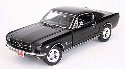 Item 53572b 1965 Mustang Fastback black