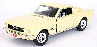 Item 53572f 1965 Mustang Fastback Sunlight yellow