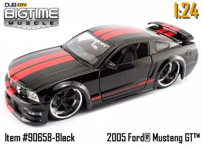 2005 Ford Mustang GT item 90658black