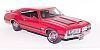 1970 Olsmobile 442 Coupe • Red with Black stripes • #FM-S11G353