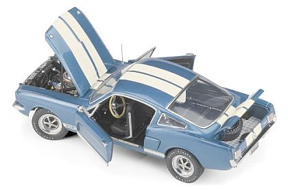 1966 Shelby Mustang G.T.350 • Sapphire Blue with White Stripes • FM-B11F681