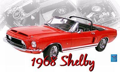 1968 Shelby GT500KR red item GMP2403202