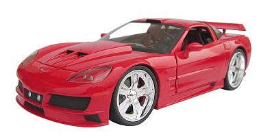 Customized Corvette C6 coupe item 31240red