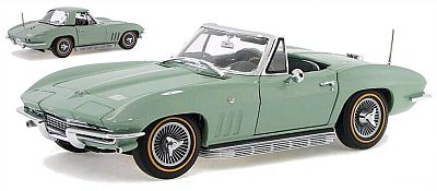 1966 Corvette Sting Ray convertible with hardtop item DM1385