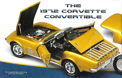 1972 Corvette Stingray convertible, item #DM1492