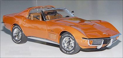 1972 Corvette Coupe - Ontario Orange - Limited - Item #DM1531