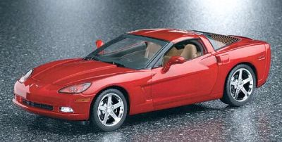 2005 Corvette C6 Coupe in Precision Red, item #FMc590