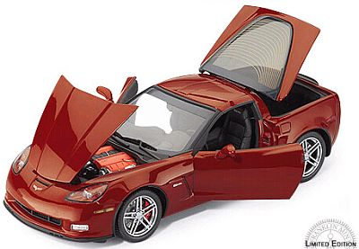 2006 Daytona Sunset Orange Corvette Z06, item #FMe423