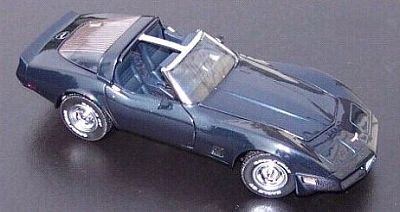 1981 Corvette coupe dark blue metallic item FMe310