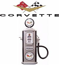 Corvette 3.5'' Gas Pump item 66254