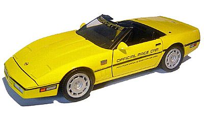 1986 INDY500 Corvette convertible Pace Car by Greenlight item GL20604