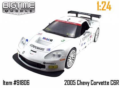 Corvette C6.R #3 - Sebring 2007 - Ron Fellows Championship Edition - JT91806WH