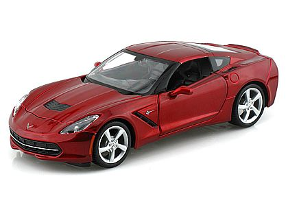 C7 2014 Corvette Stingray Coupe • Crystal Red • #MAI31505CRE