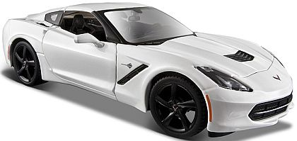 C7 Corvette Stingray Coupe • Arctic White • #MAI31505AWH