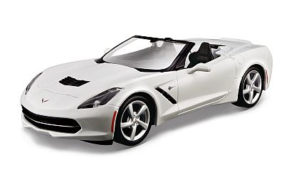 C7 Corvette Stingray Convertible • Arctic White • Assembly Line • #MAI39122AWH