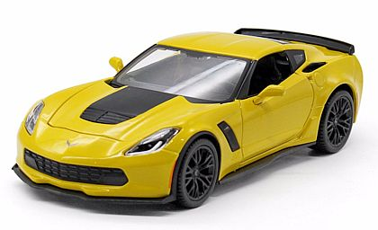 C7 2015 Corvette Coupe Z06 • Velocity Yellow • #MAI39246VYE