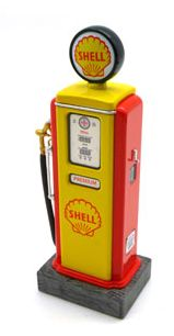SHELL Premium Gas • Retro Fuel Pump • #TSM13AC29