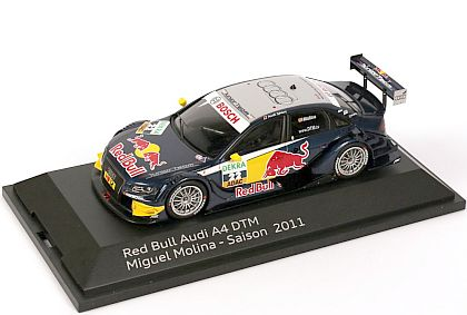 2011 Audi A4 DTM #22 • Miguel Molina • Red Bull • #s5021100263