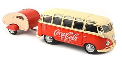 1962 Volkswagen Coca-Cola T1 Bus with Camper • #MCC-467433