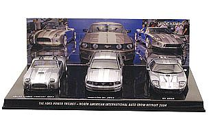 Ford Concept Series: Shelby Cobra, Mustang GT and Ford GT Item No.P058000