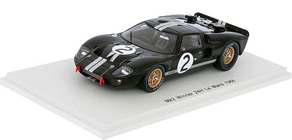 Ford GT40 Mk.II #2 • Overall Winner 1966 Le Mans 24-Hrs. • #S43LM66