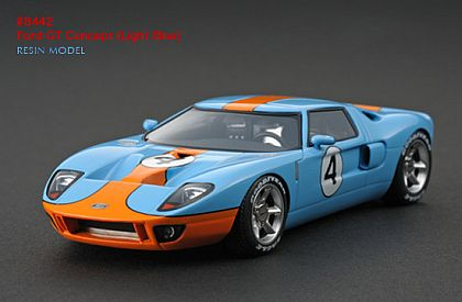 Ford GT Concept GULF #4 • #HPI8442