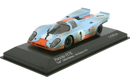 Gulf Porsche 917K #1 • Siffert/Redman • 1970 Daytona 24-Hrs. • J.W.Automotive Engineering Ltd. • #MC430706791