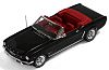 1965 Ford Mustang Convertible • Black exterior - Red interior • #IX-PRD251