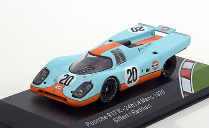 Gulf Porsche 917 #20 • Siffert/Redman • 1970 Le Mans 24-Hrs. • J.W.Automotive Engineering Ltd. • #CMR43001