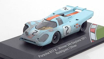 Gulf Porsche 917 #2 • Rodriguez/Oliver • 1971 Daytona Winner • J.W.Automotive Engineering Ltd. • #CMR43003