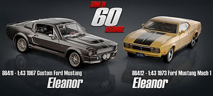 ELEANOR • Gone in 60 Seconds • #GL86411/GL86412