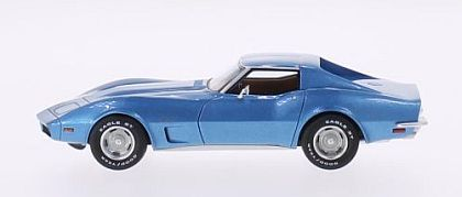 1973 Corvette Stingray Coupe • Medium Blue • #BOS43540