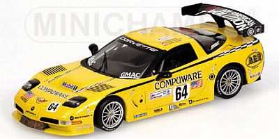 Corvette C5-R #64 Le Mans GTS class WINNER by Minichamps item 400041464