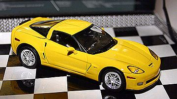 2006 Corvette Z06 - Velocity Yellow - Norev#900002